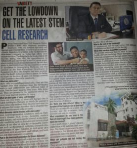 stem cell therapy hospital