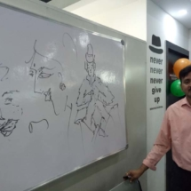 Mr. VD, case of MS sketches after 4 years